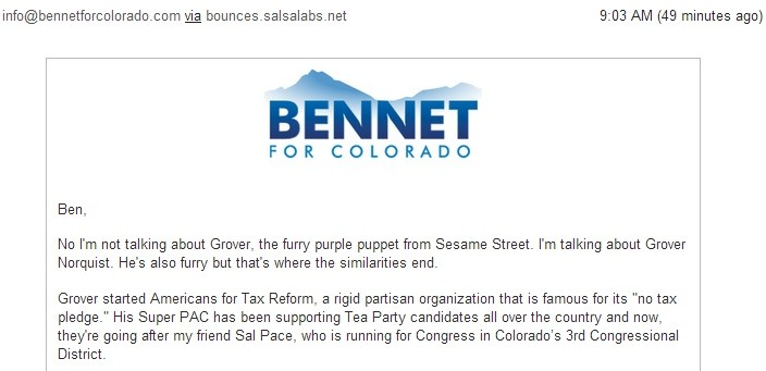 Bennet email purple Grover